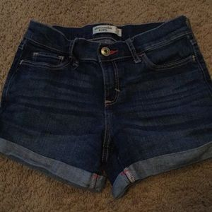 Abercrombie kids denim shorts size 11/12